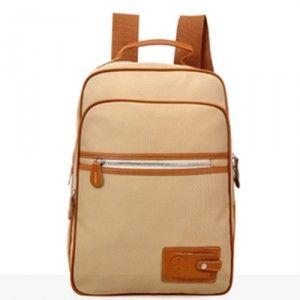 $101.20 Cheap MCM Vintage Signature Zipper Backpack Beige