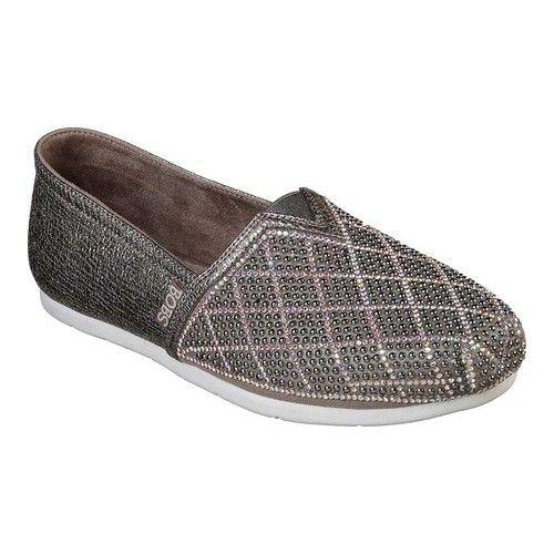 Skechers Luxe Bobs Luxe Elite Alpargata Skechers Fabric Shoes