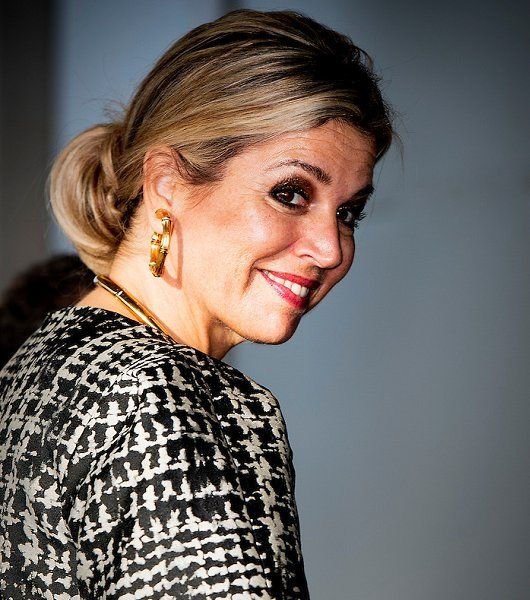 Dutch Queen Maxima attends FMO finance conference