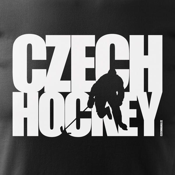 Tričko CZECH HOCKEY pro všechny chlapy a kluky, které rádi fandí českým hokejistům. Pánská trička jsou vyrobena ze 100% částečně počesané bavlny a jistě překvapí nejen příjemným nošením, ale i svou odolností při fandění či sportu.