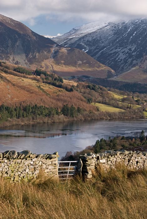 Gasgale Gill Across Loweswater, Cumbria. Our tips for 25 fun things to do in England: http://www.europealacarte.co.uk/blog/2011/08/18/what-to-do-england/