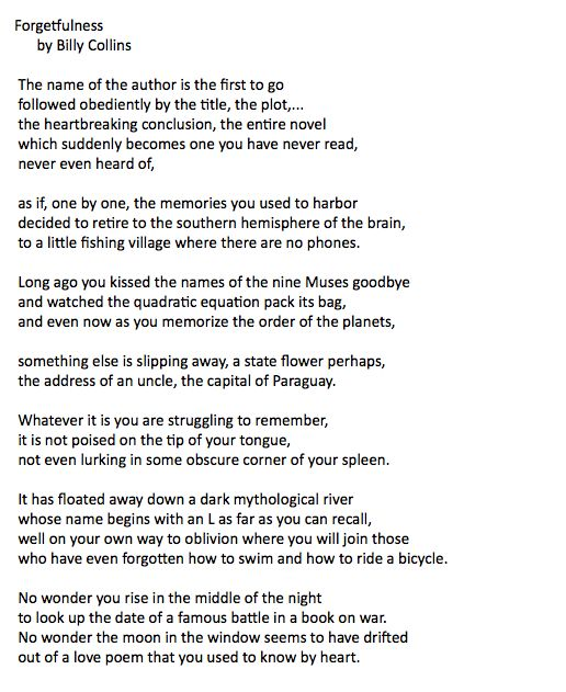 This is a scary poem.  But beautifully written.