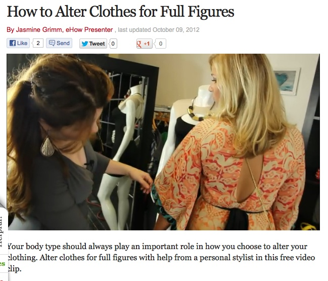 How to alter clothes for fuller figures http://www.ehow.com/video_12247748_alter-clothes-full-figures.html