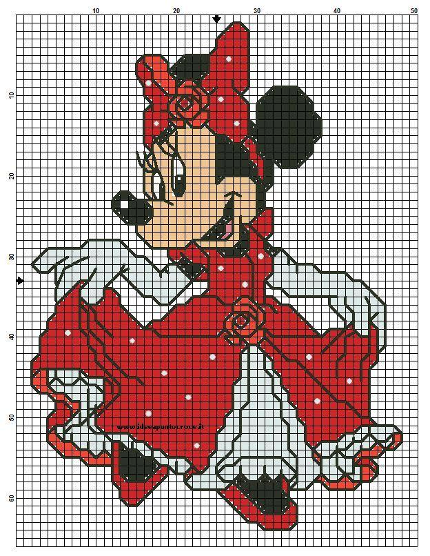Cinderella Minnie Mouse - no key