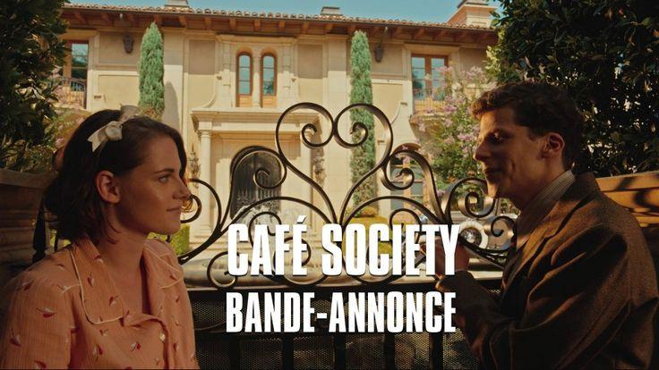 """Kristen Stewart, Jesse Eisenberg star in Woody Allen's Hollywood comedy """"Cafe Society"""" - first trailer..."""