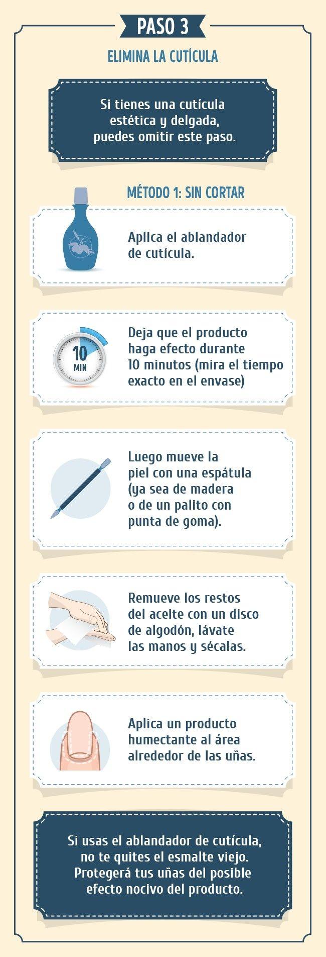 La mejor instrucción para que tus uñas luzcan geniales