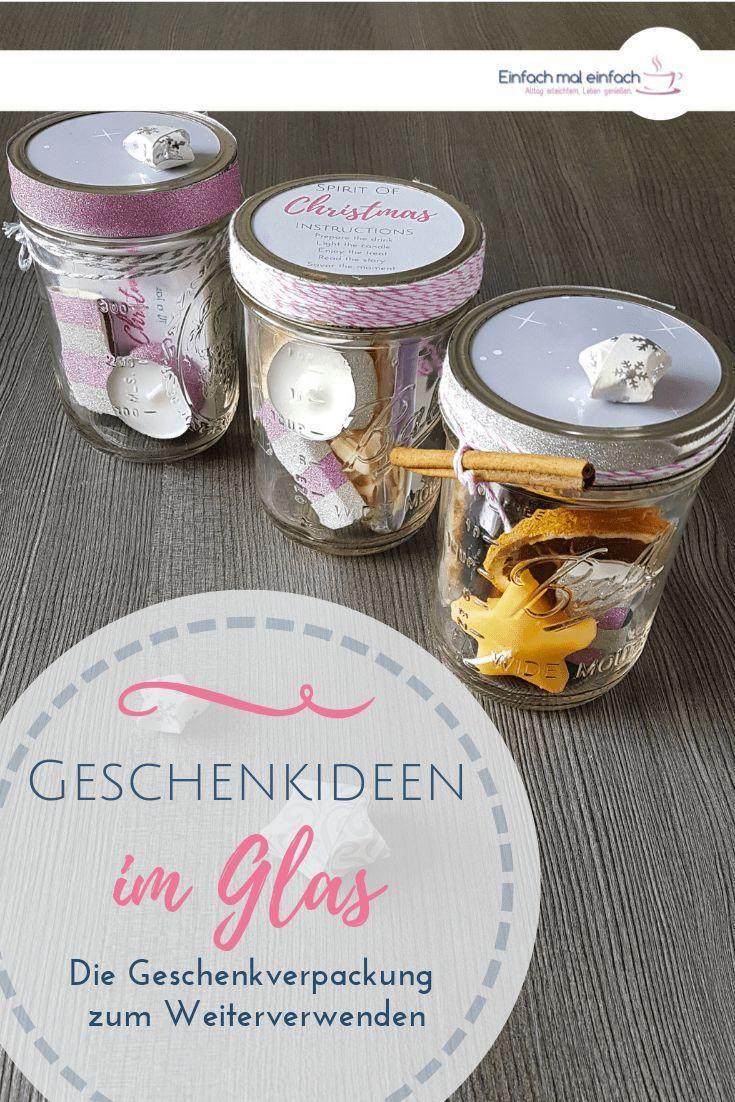 Geschenkideen im Glas