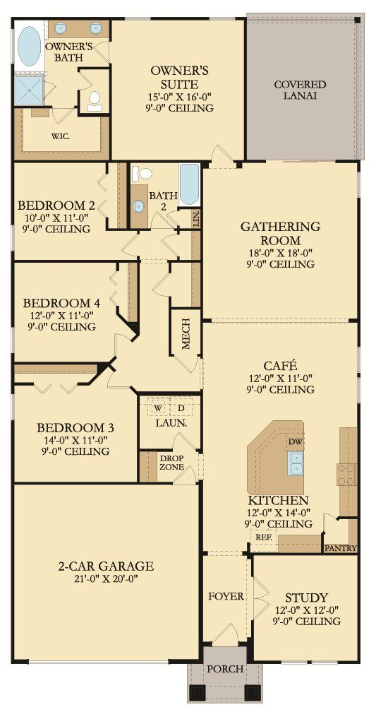 17 Best Images About Floor Plans By Lennarjax On Pinterest