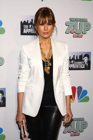 "Melania Trump Photo - ""The Celebrity Apprentice"" Season 4 Finale in New York City"