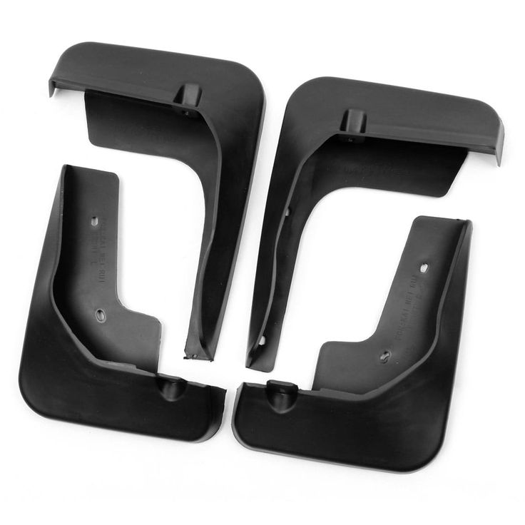 Unique Bargains 4pcs Black Plastic Mud Flap Flag Splash Guards Mudguard for Toyota Camry 2012