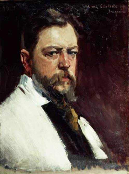 Joaquin Sorolla: Self Portrait