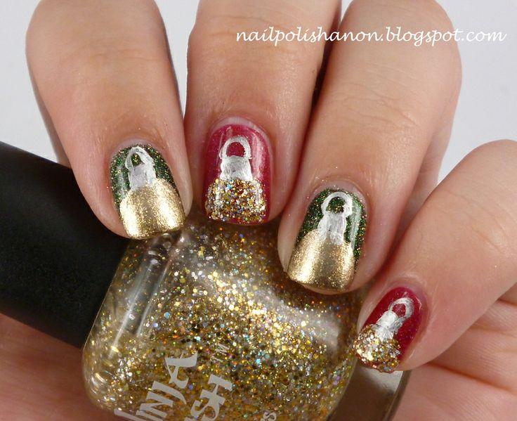 Christmas Baubles by NailPolishAnon #nails #nailart #nailpolis