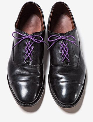 Galerry lace your dress shoes
