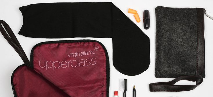Virgin Atlantic Inbound or outbound flight? Virgin Atlantic Upper Class has a separate kit for each. The bags aremade from rPET, a sustainable material made from crushed plastic bottles. The fabric is dark grey (reminiscent of the best Saville-Row suit) with a black-cherry silk lining ...
