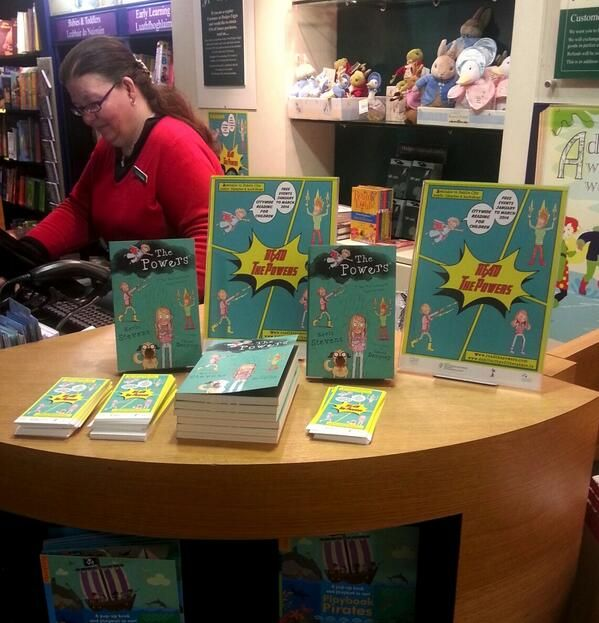 The Powers at Hodges Figgis