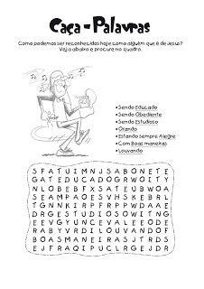 Tias da Escolinha - Ministério Infantil: Desenhos e atividades