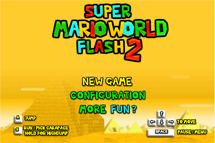 Super Mario World Flash 2 - Juegos Mario Bros