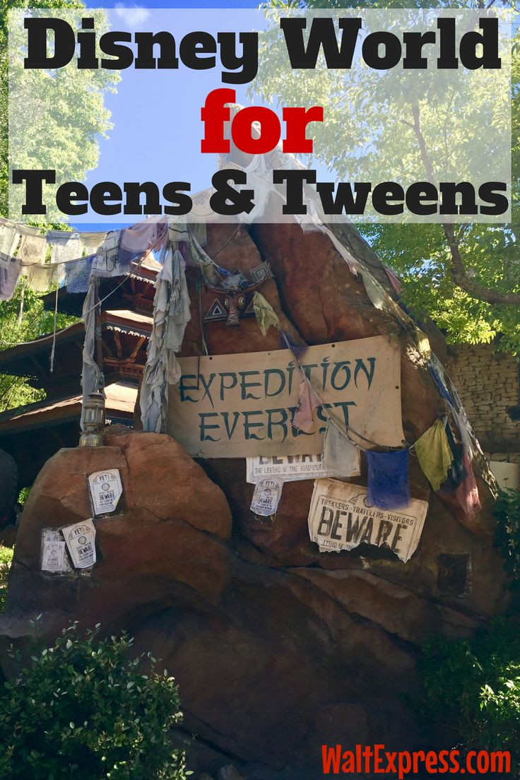 Disney World Must-Dos for Tweens and Teens