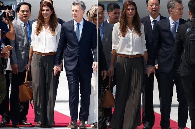 Juliana Awada desplegó su estilo y elegancia en la cumbre del G-20  Foto…