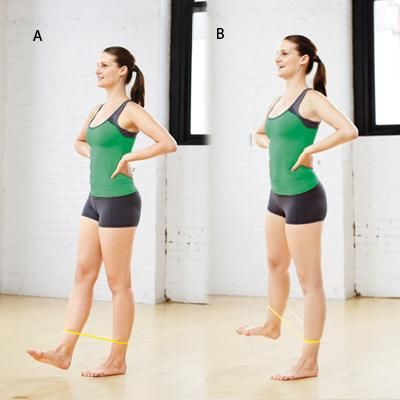 Flex-Foot Tendue: a small movement but it makes the legs and butt hum!