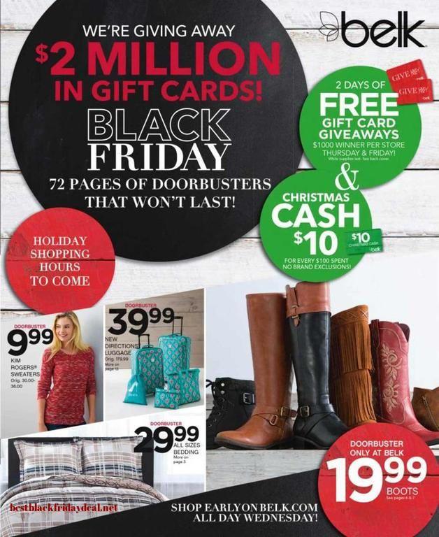 Belk Black Coupon Deal Stores Belk Black Friday Black Friday Ads Black Friday