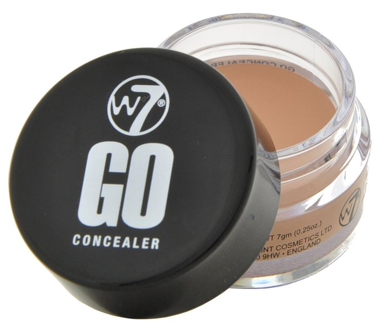Καλύψτε κάθε ατέλεια με το W7 Go Concealer! Με κρεμώδη υφή και σε βαζάκι για να παίρνετε την κατάλληλη ποσότητα, το W7 Go Concealer είναι ιδανικό για να καλύψει σημάδια ακμής, σπυράκια και μαύρους κύκλους.Περιεχόμενο: 7g