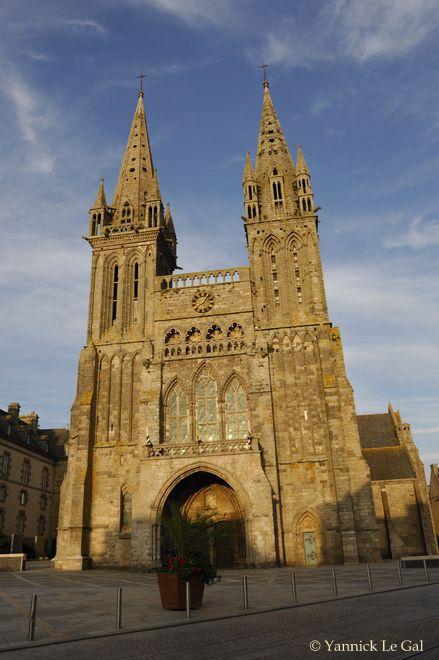 l'église Saint-Paul-Aurélien de Saint-Pol-de-Léon. | Finistère Tourisme