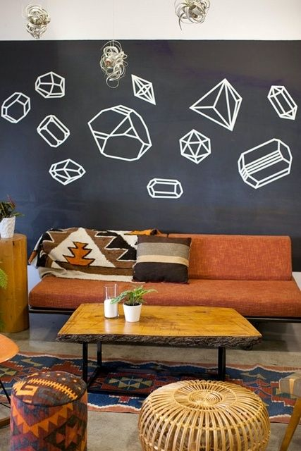Home inspiration habiller ses murs deco design interieur mur sticker