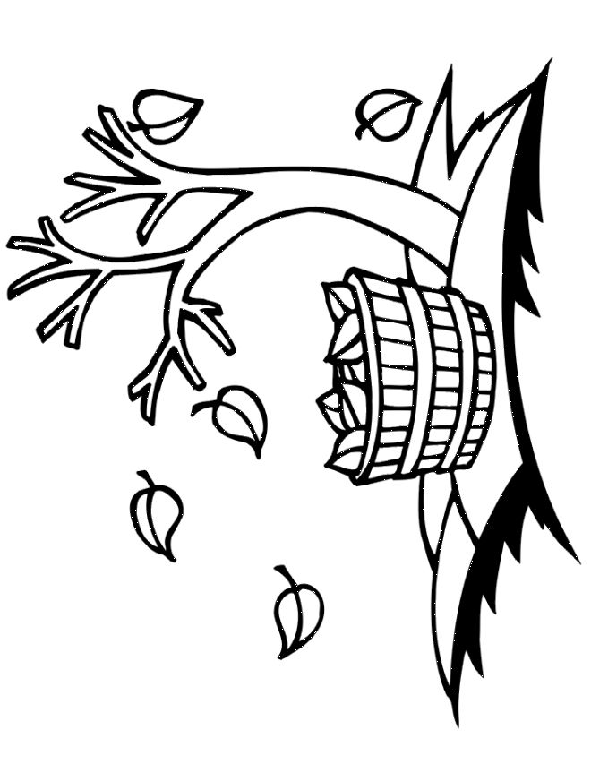 Fall Tree Coloring Pages Miakenasnet