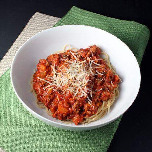 Giada's Quick Bolognese #Pasta #Bolognese #Giada: Tomatoes Sauces ...