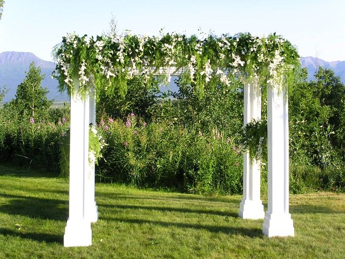 wedding arbor special events party supply store in ak