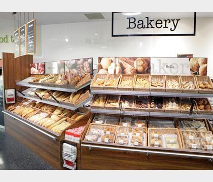 23 best images about supermarket design bakery on for Bakery interior design