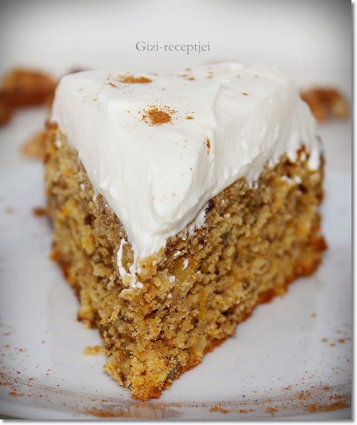 Gizi-receptjei. Várok mindenkit.: Sütőtökös-diós torta.
