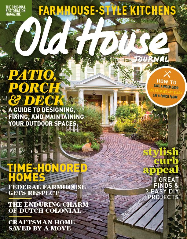 old house journal gives you tutorial style articles and lifestyle articles dedicated to restoring and preserving historical homes