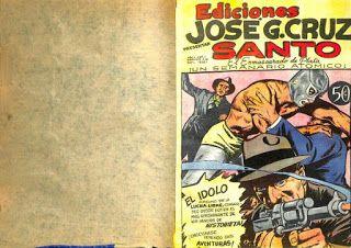 HISTORIETAS DE SANTO, EL ENMASCARADO DE PLATA: GENESIS DEL SANTO, PRIMERA EDICION DE 1952