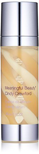 cool Meaningful Beauty by Cindy Crawford – Crème de Serum – Melon Extract Night Moisturizer – Peptides And Hyaluronic Acid Help Restore Moisture and Skin Firmness – 1 Fluid Ounce – MT.0353