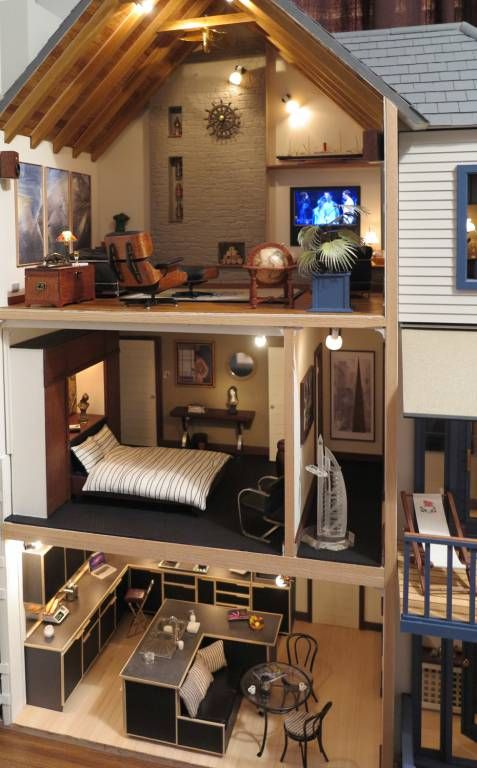 Falmouth004 - Cornish Summer House - Gallery - The Greenleaf Miniature Community