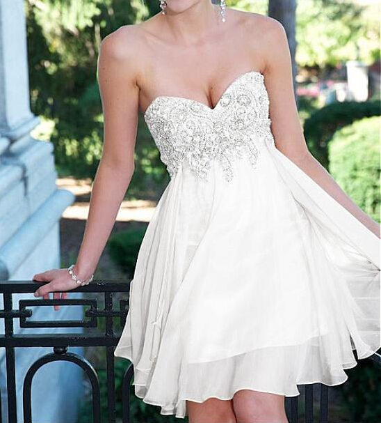Homecoming Dresses Short / Knee-Length Dress Graduation, Sweetie Charm Homecoming Dresses, Graduation Dresses, Wedding Bridesmaid Dresses
