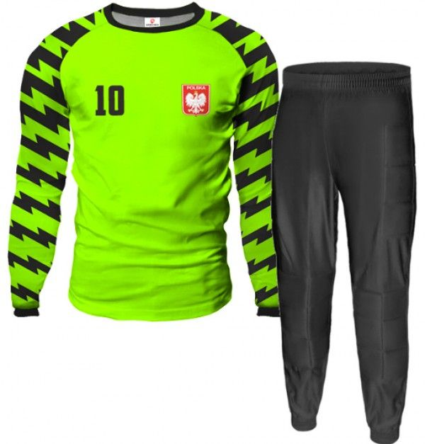 ARROW Goalkeeper Kit With Pants With Custom Name Number And Logo Different Colors