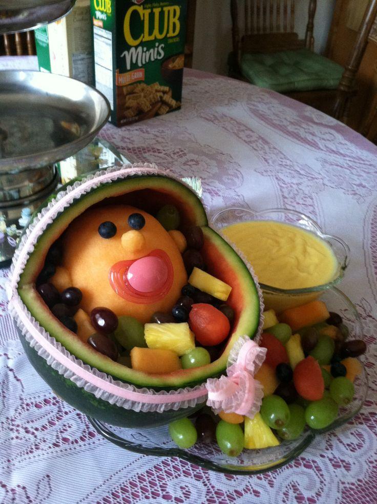 Baby Gift Edible Arrangements : Fruit arrangement for baby shower edible