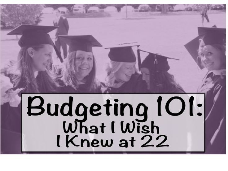 Are you or someone you know about to graduate from college soon? Now more than ever, it's important to start your finances strong!  #Budgeting 101: What I Wish I Knew at 22