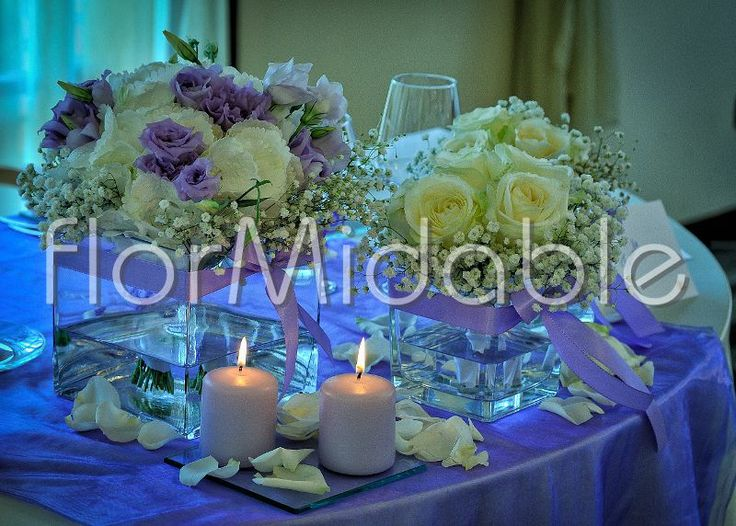 centrotavola matrimonio, moderni, eleganti, vintage, romantici | Flormidable