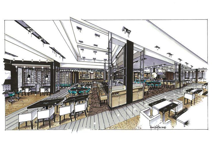 Hans Kuijten » Projecten Project Name: Hotel van der Valk Zwolle Sketch