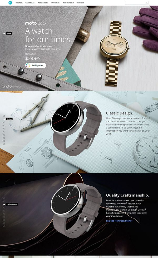 Motorola | Web Design Clip [L] 【ランディングページWebデザインクリップ】