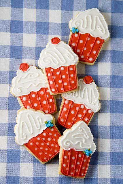 Cupcake galletas.