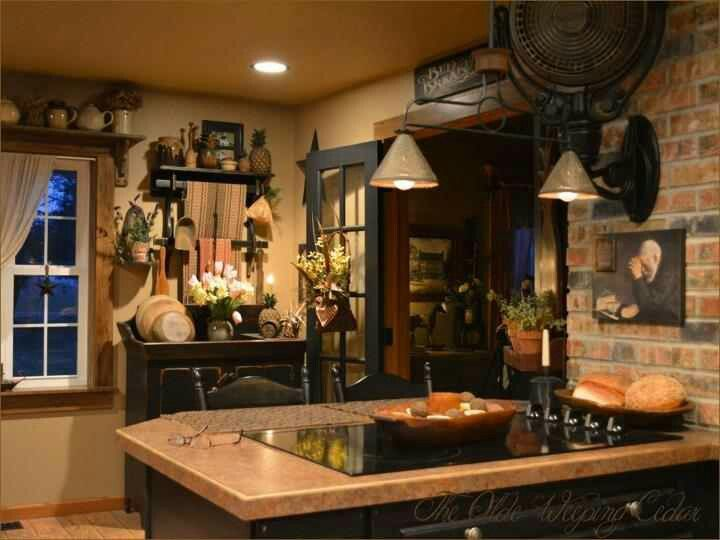 1006 Best Primitive/Country/Rustic Kitchens 1 Images On