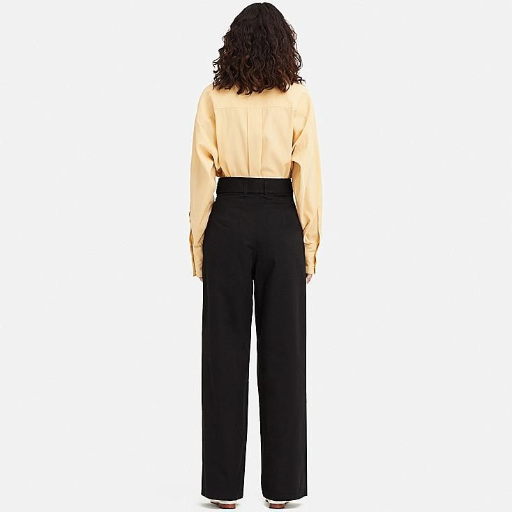 af210c073 WOMEN UNIQLO U HIGH WAISTED TWO TUCKED TROUSERS