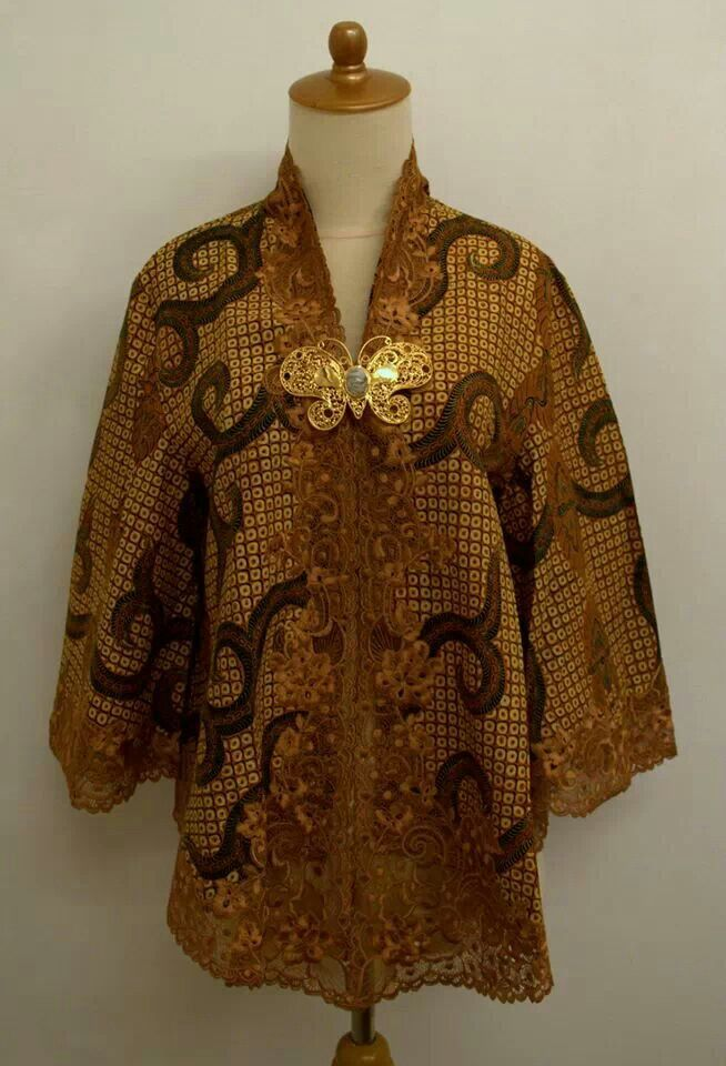 blouse batik sogan