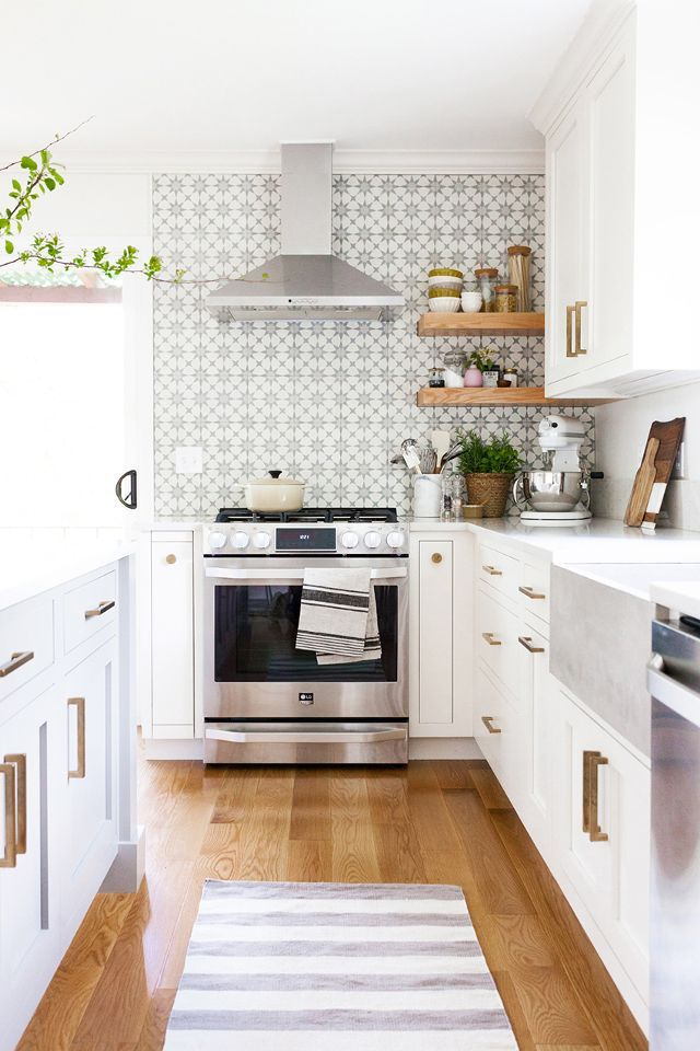 12 Of The Best Interior Design Blogs To Bookmark Right Now Kitchen Remodel Small White Kitchen Remodeling Farmhouse Kitchen Decor