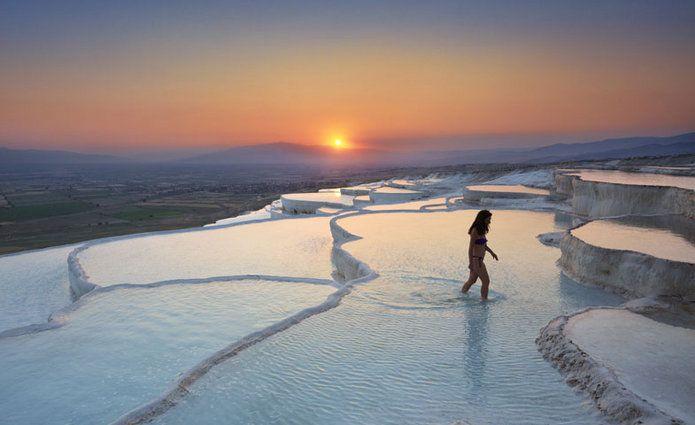 Estas piscinas naturales de Turquía aportan beneficios para el organismo, a la vez que permiten disfrutar de un paisaje de belleza singular.